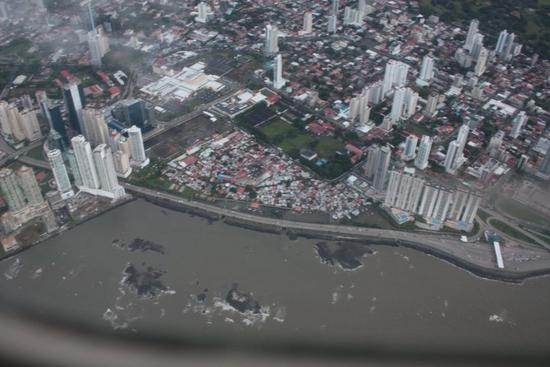 Aerial view of Boca La Caja
