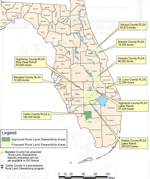 Rural Land Stewardship 2007 Annual Report Florida